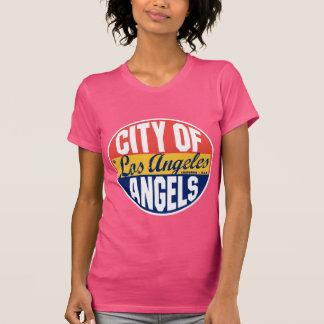 T-shirt Étiquette vintage de Los Angeles