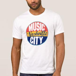 T-shirt Étiquette vintage de Nashville