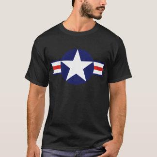 T-shirt Étoile 1947-1999 d'avions militaires des USA