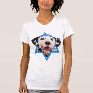 T-shirt Étoile de David de Hanoukka - Dalmate