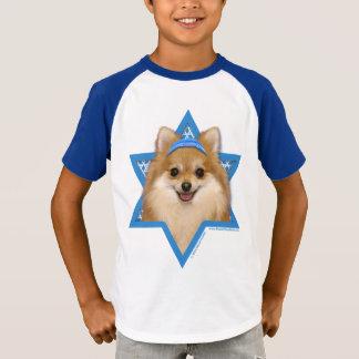T-shirt Étoile de David de Hanoukka - Pomeranian