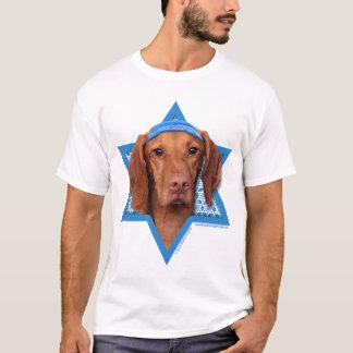 T-shirt Étoile de David de Hanoukka - Vizsla - Reagan