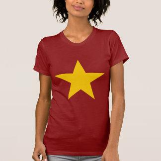 T-shirt Étoile de drapeau du Vietnam