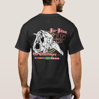 T-shirt Étoile de drapeaux de Jiu-Jitsu… ! ! !