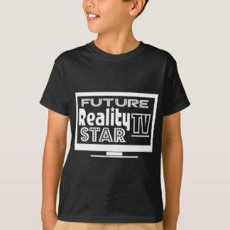 T-shirt Étoile de la réalité TV