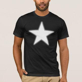 T-shirt Étoile tramée - blanc
