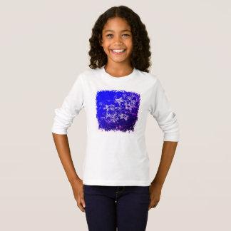 T-shirt Étoiles de mer et bulles mignonnes dans l'océan