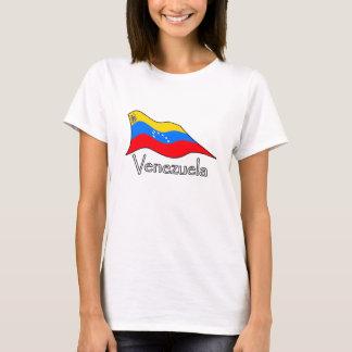 T-shirt Étoiles du drapeau 7 du Venezuela et manteau des