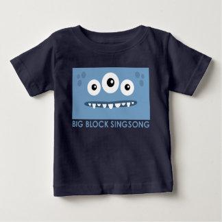 T-shirt étranger de bébé d'amis de l'espace de