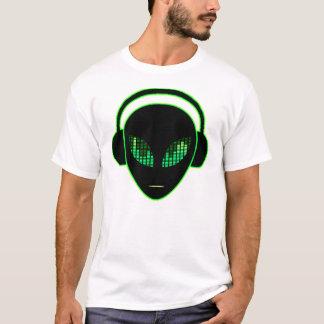 T-shirt étranger d'écouteurs