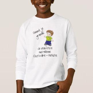 T-shirt Être autiste
