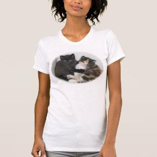 T-shirt Étreindre de chatons