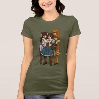 T-shirt étreinte 4-Way