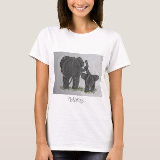 T-shirt Étreintes d'éléphant