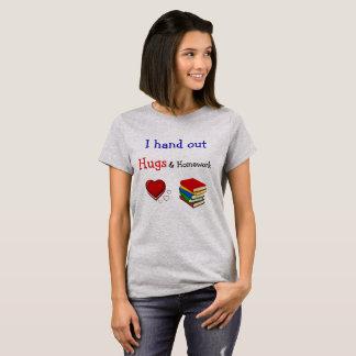 T-shirt Étreintes et chemise de professeur de travail