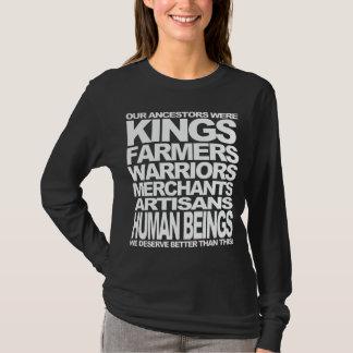 T-shirt Êtres humains
