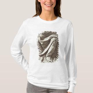 T-shirt Étude de draperie pour une figure posée, c.1475-80