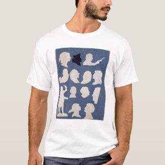 T-shirt Étude des profils et d'un orateur