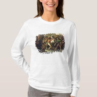 T-shirt Étude pour la course des chevaux barbares, 1817