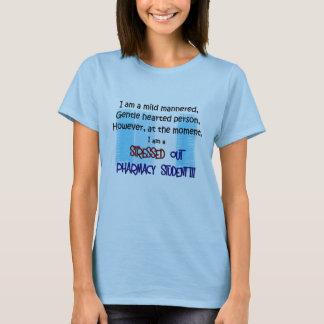 T-shirt étudiant de pharmacie SOUMIS À UNE CONTRAINTE