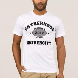 T-shirt Étudiant de première année 2012 de paternité