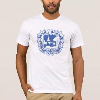 T-shirt Étudiant, diplômé, état Universi de Lomonosov