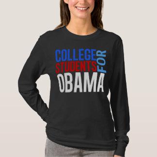 T-shirt Étudiants universitaires pour Obama