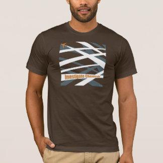"""T-shirt """"étudiez Chemtrails"""""""