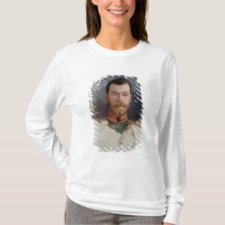 T-shirt Étudiez pour un portrait de tsar Nicholas II 1898