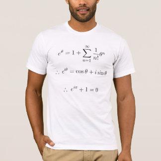T-shirt Euler a expliqué : addition