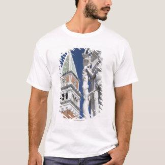 T-shirt Ève dans le jardin du palais des doges d'Éden avec