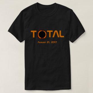 T-shirt Événement total d'éclipse solaire