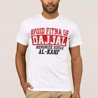 T-shirt Évitez Fitna de Dajjal mémorisent Al de Surah -