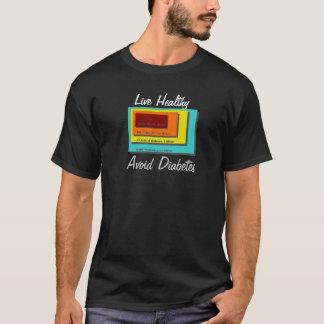 T-shirt Évitez le diabète