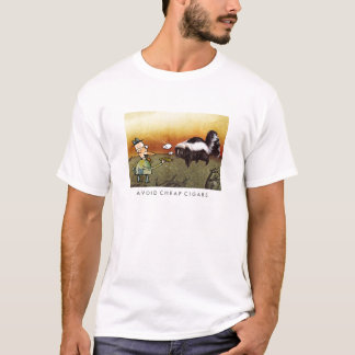 T-shirt Évitez les cigares bon marché