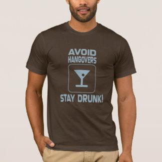 T-shirt Évitez les gueules de bois !