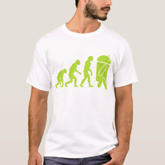 T-shirt Évolution androïde