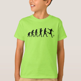 T-shirt Évolution b du football