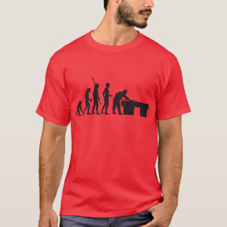 T-shirt évolution billard