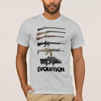 T-shirt Évolution d'arme à feu