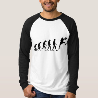T-shirt Évolution de basket-ball