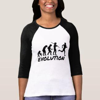 T-shirt Évolution de coureur