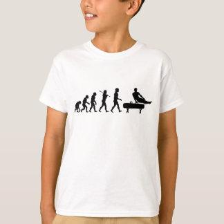 T-shirt Évolution de gymnastique de cheval de pommeau