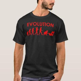 T-shirt Évolution de Jiu Jitsu