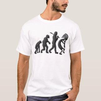T-shirt Évolution de Kokopelli