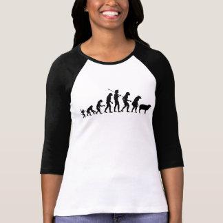 T-shirt Évolution de la chemise des masses