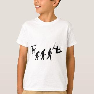 T-shirt Évolution de la gymnastique
