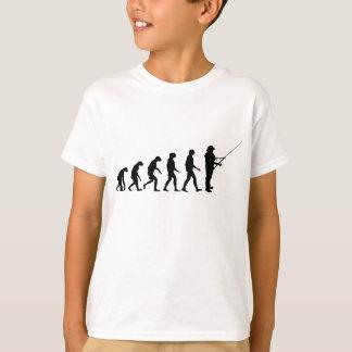T-shirt Évolution de la pêche
