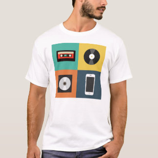 T-shirt Evolution de l'Audio