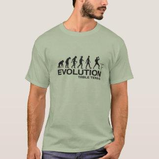 T-shirt ÉVOLUTION de ligue de sport de joueur de PING-PONG